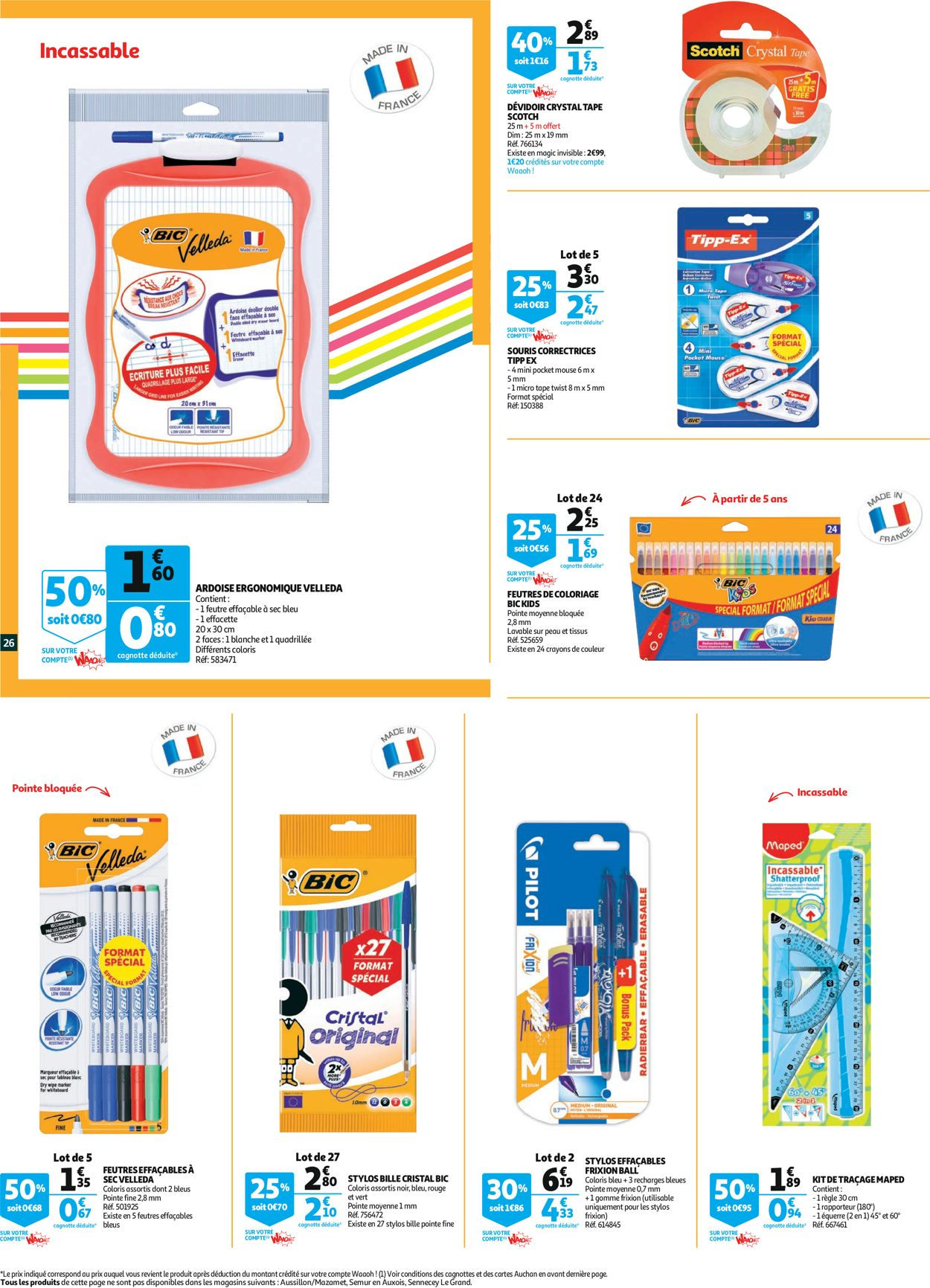 Auchan Catalogue - 29.07-09.08.2020 (Page 26)
