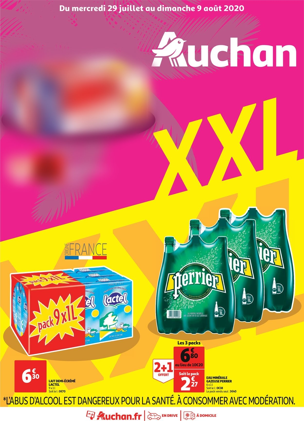 Auchan Catalogue - 29.07-09.08.2020