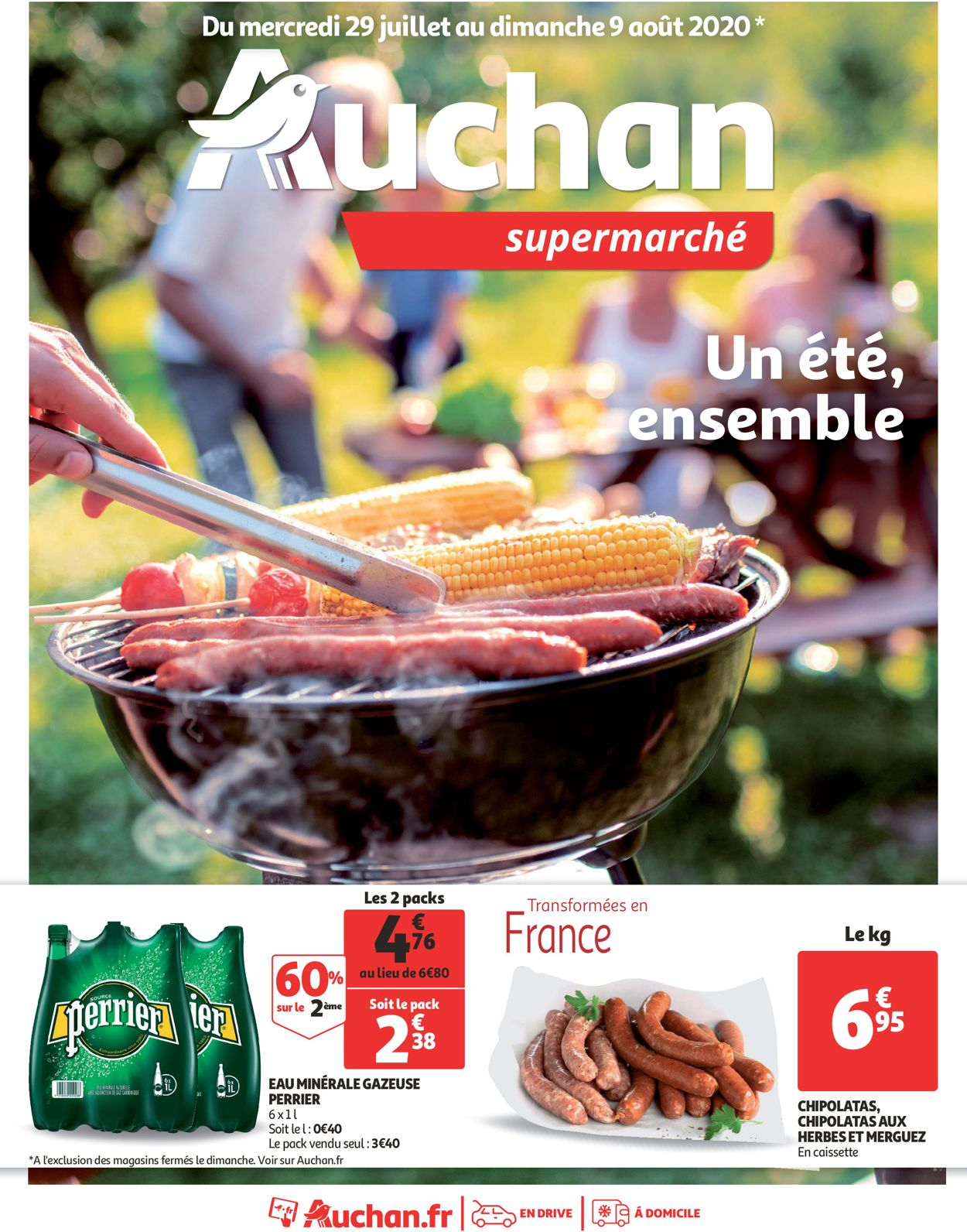 Auchan Catalogue - 29.07-09.08.2020