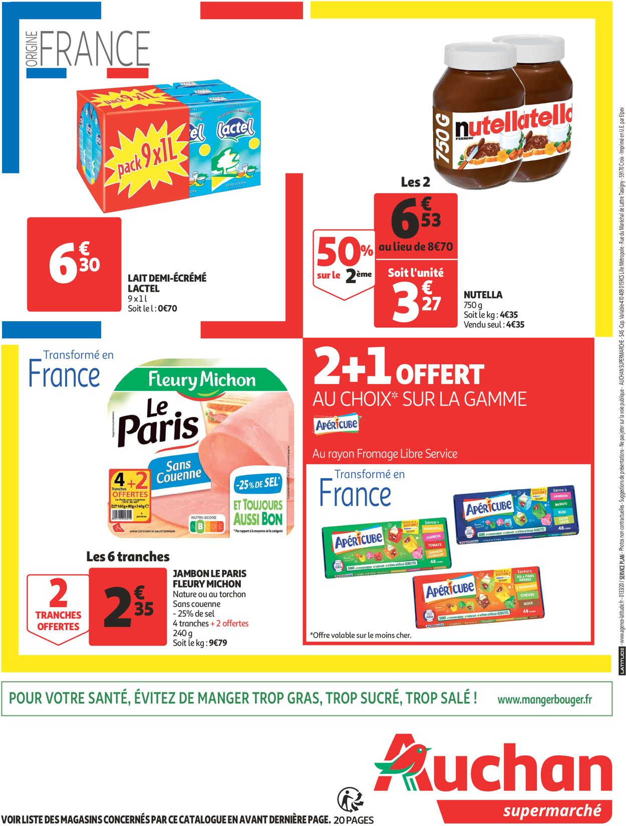 Auchan Catalogue - 29.07-09.08.2020 (Page 20)