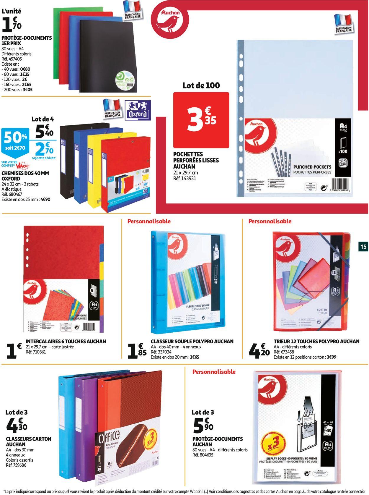 Auchan Catalogue - 12.08-01.09.2020 (Page 15)