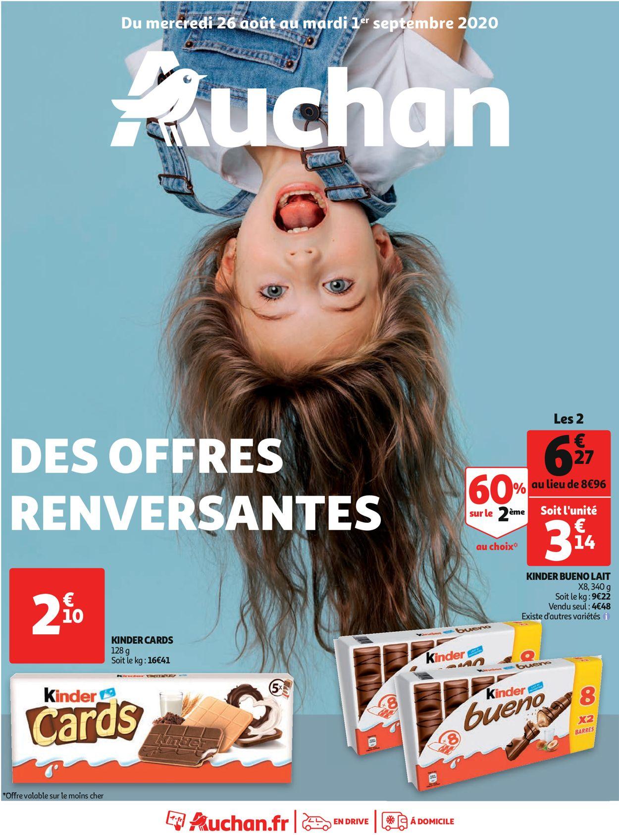 Auchan Catalogue - 26.08-01.09.2020