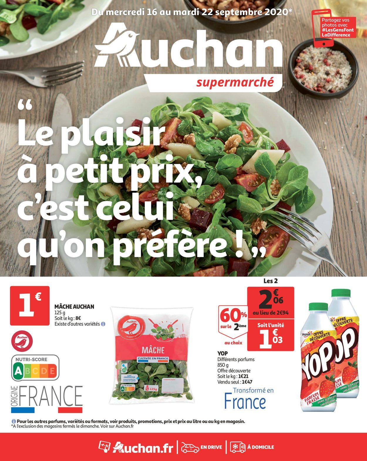 Auchan Catalogue - 16.09-22.09.2020