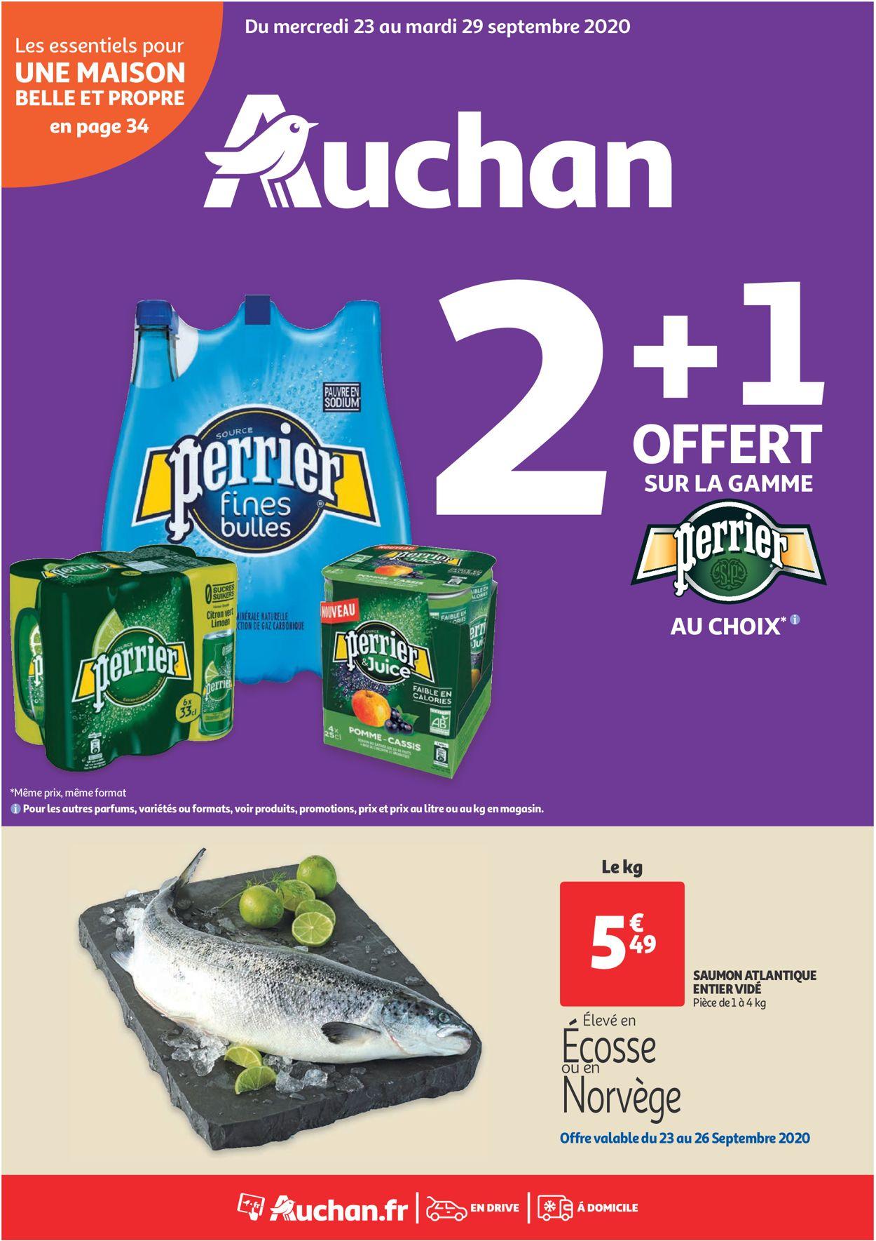 Auchan Catalogue - 23.09-29.09.2020