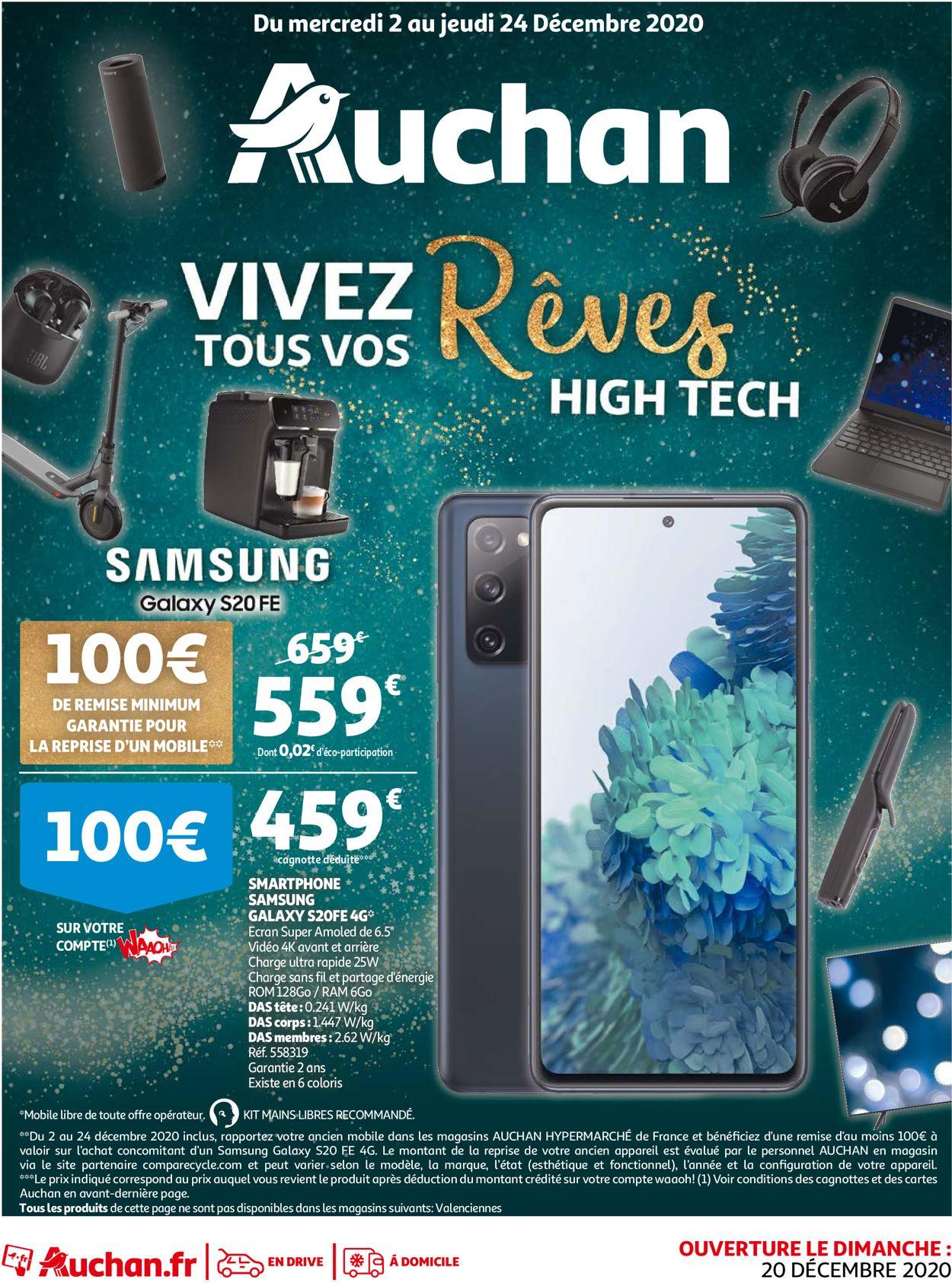 Auchan Noël 2020 Catalogue - 02.12-24.12.2020