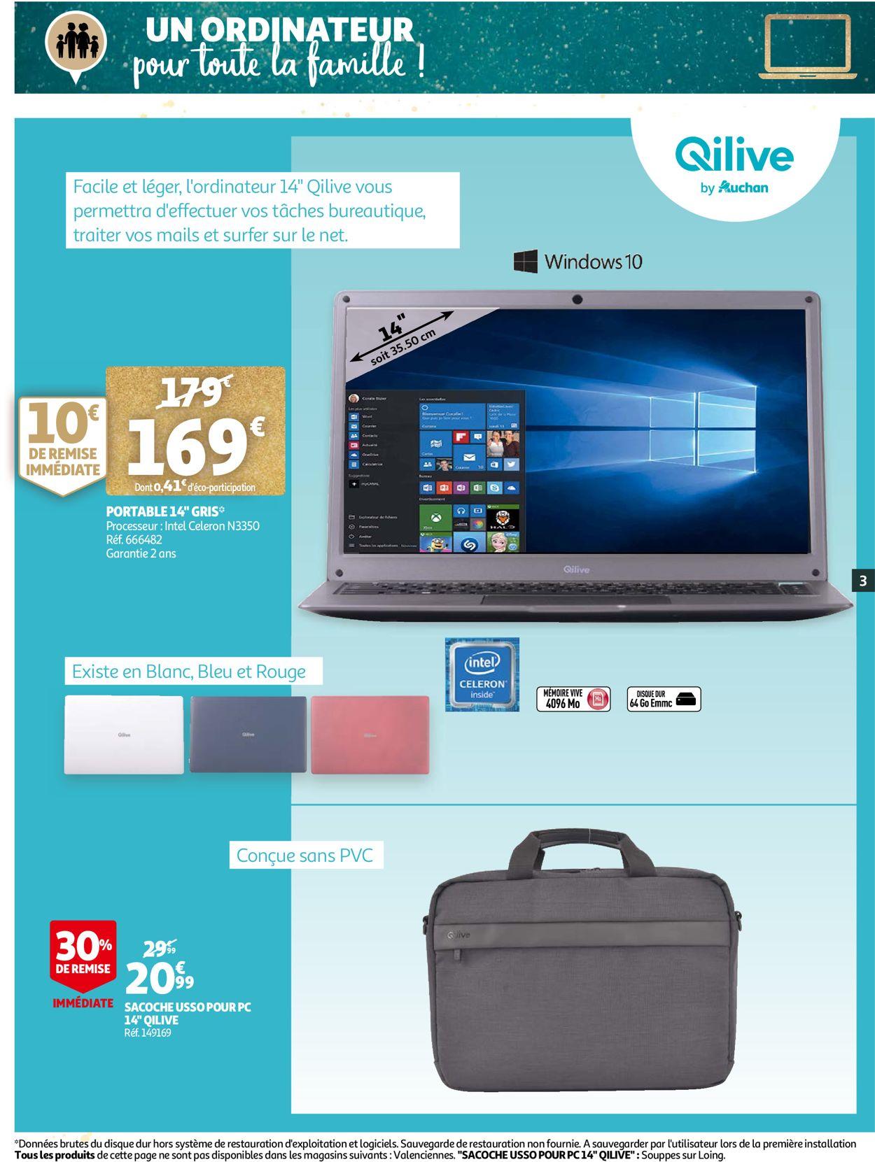 Auchan Noël 2020 Catalogue - 02.12-24.12.2020 (Page 3)