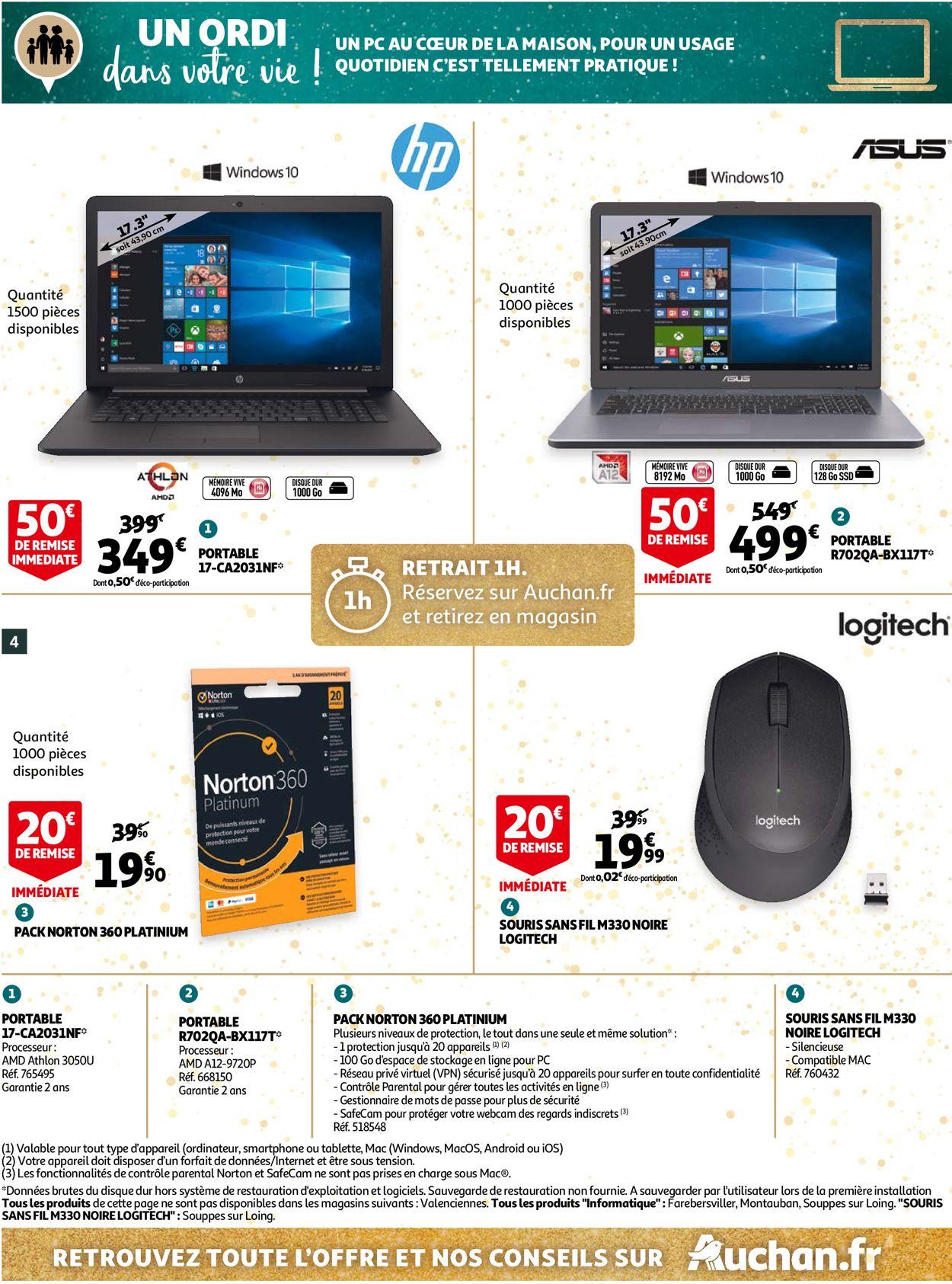 Auchan Noël 2020 Catalogue - 02.12-24.12.2020 (Page 4)