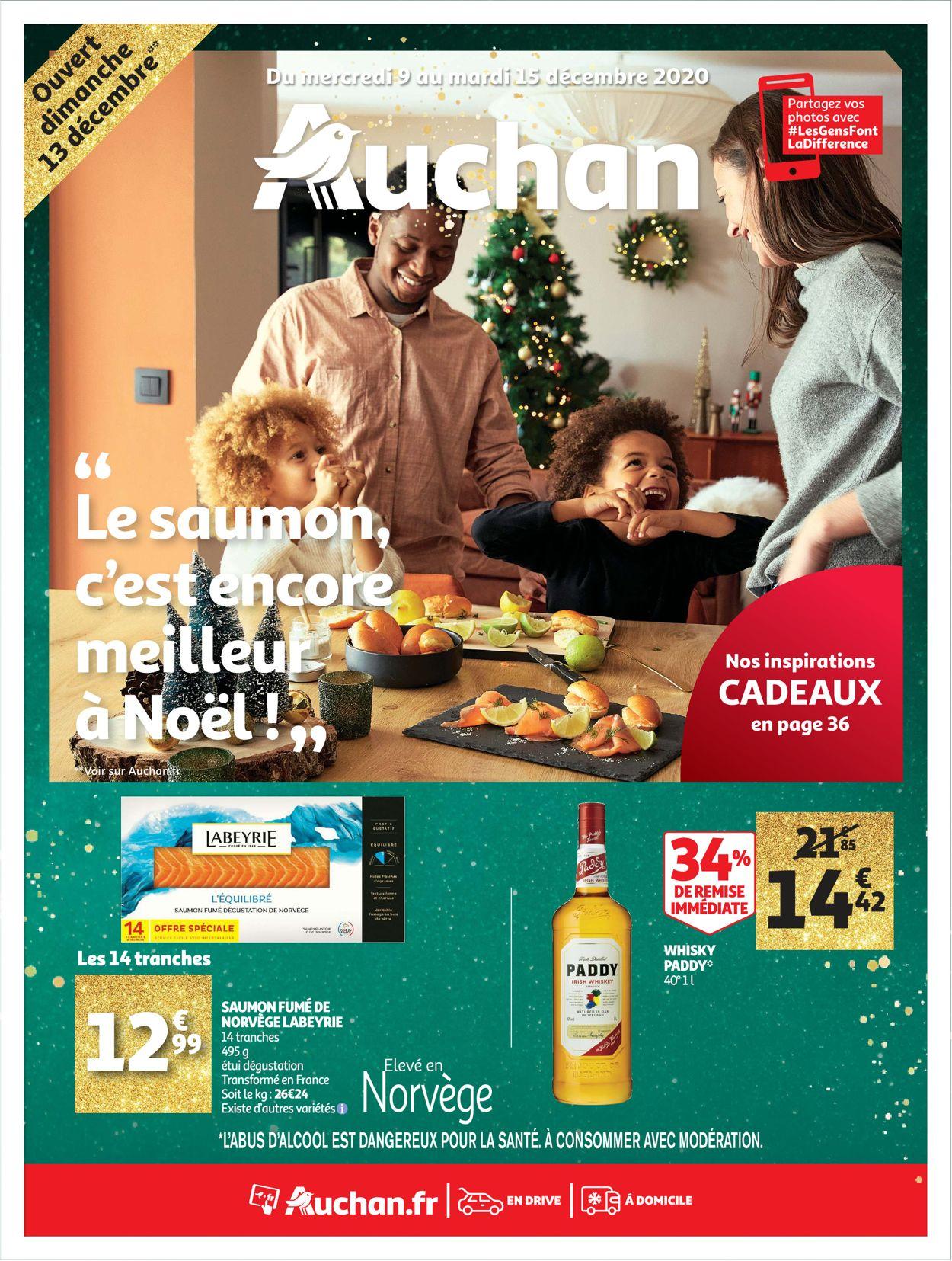 Auchan Noël 2020 Catalogue - 09.12-15.12.2020