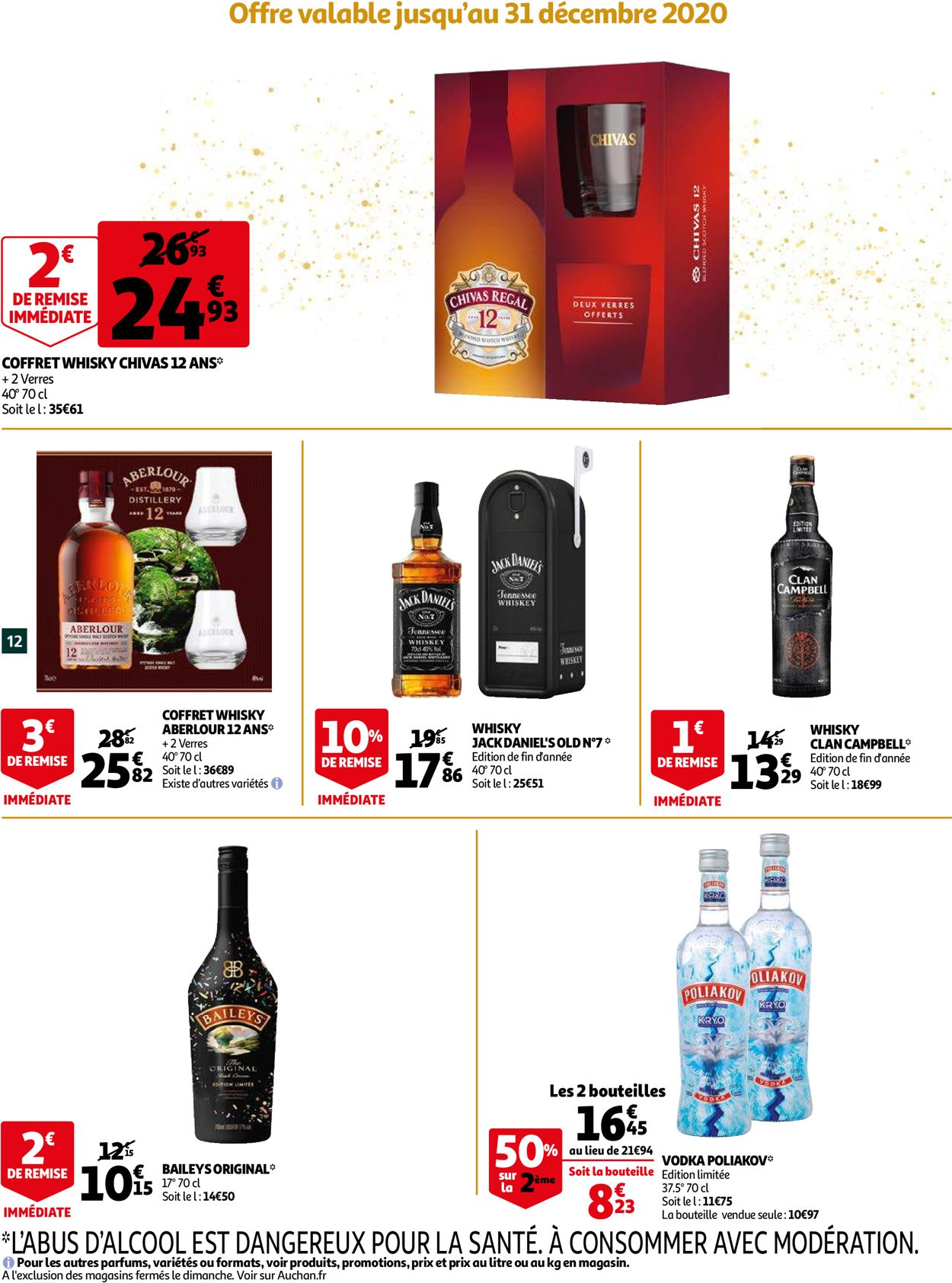 Auchan Noël 2020 Catalogue - 09.12-15.12.2020 (Page 12)