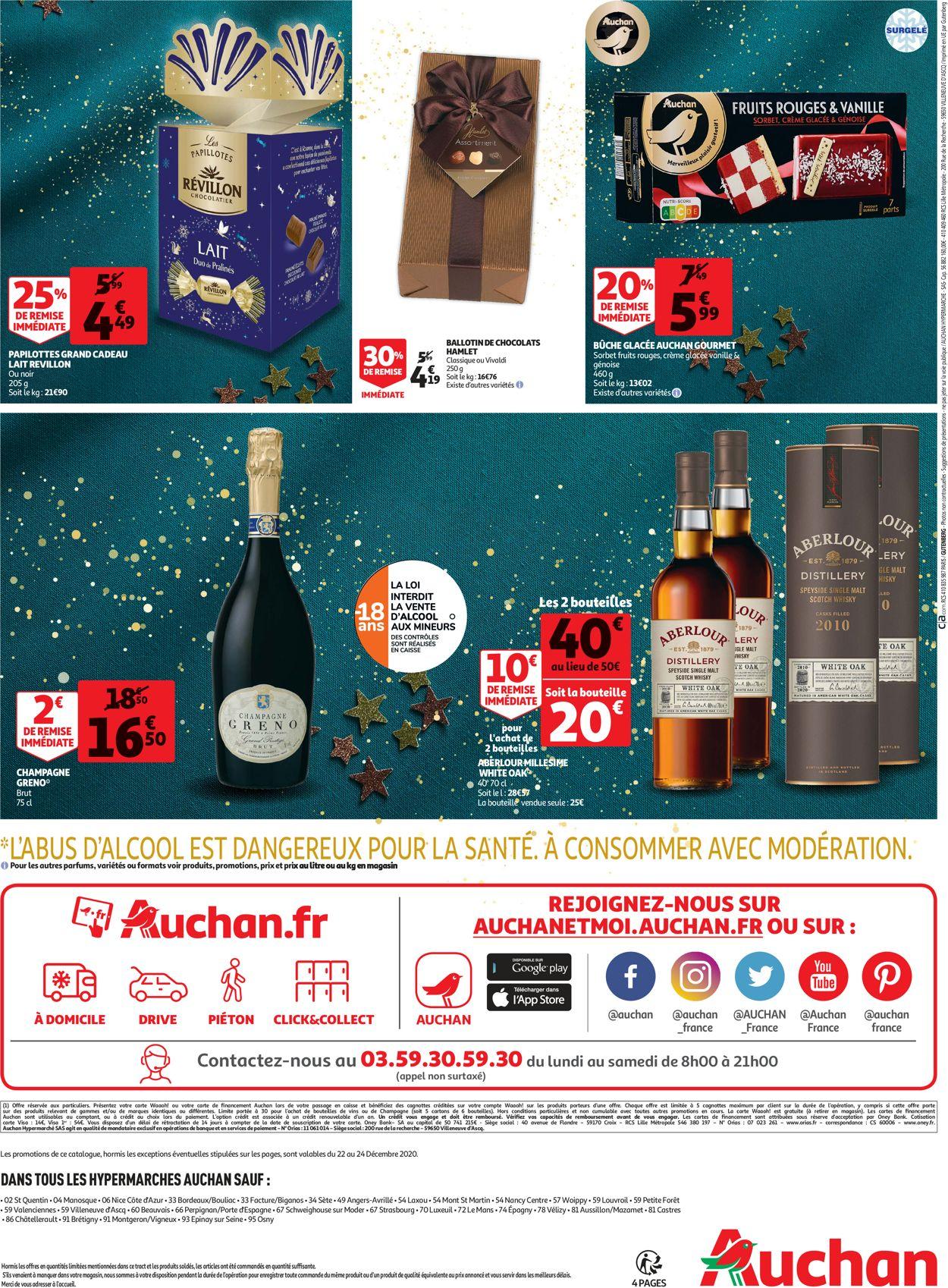 Auchan Repas Fete Noel 2020 Catalogue - 22.12-24.12.2020 (Page 4)