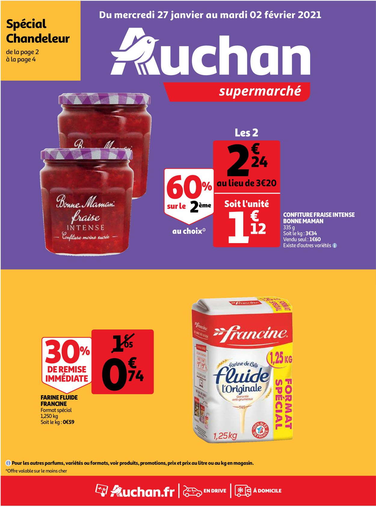 Auchan Catalogue - 27.01-02.02.2021
