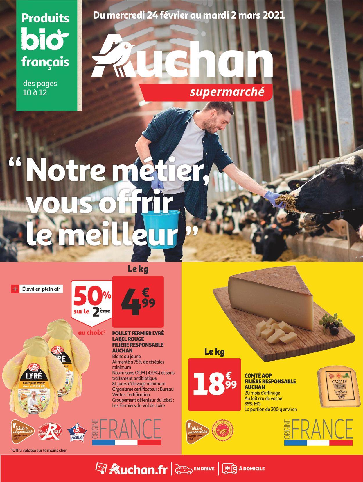 Auchan Catalogue - 24.02-02.03.2021