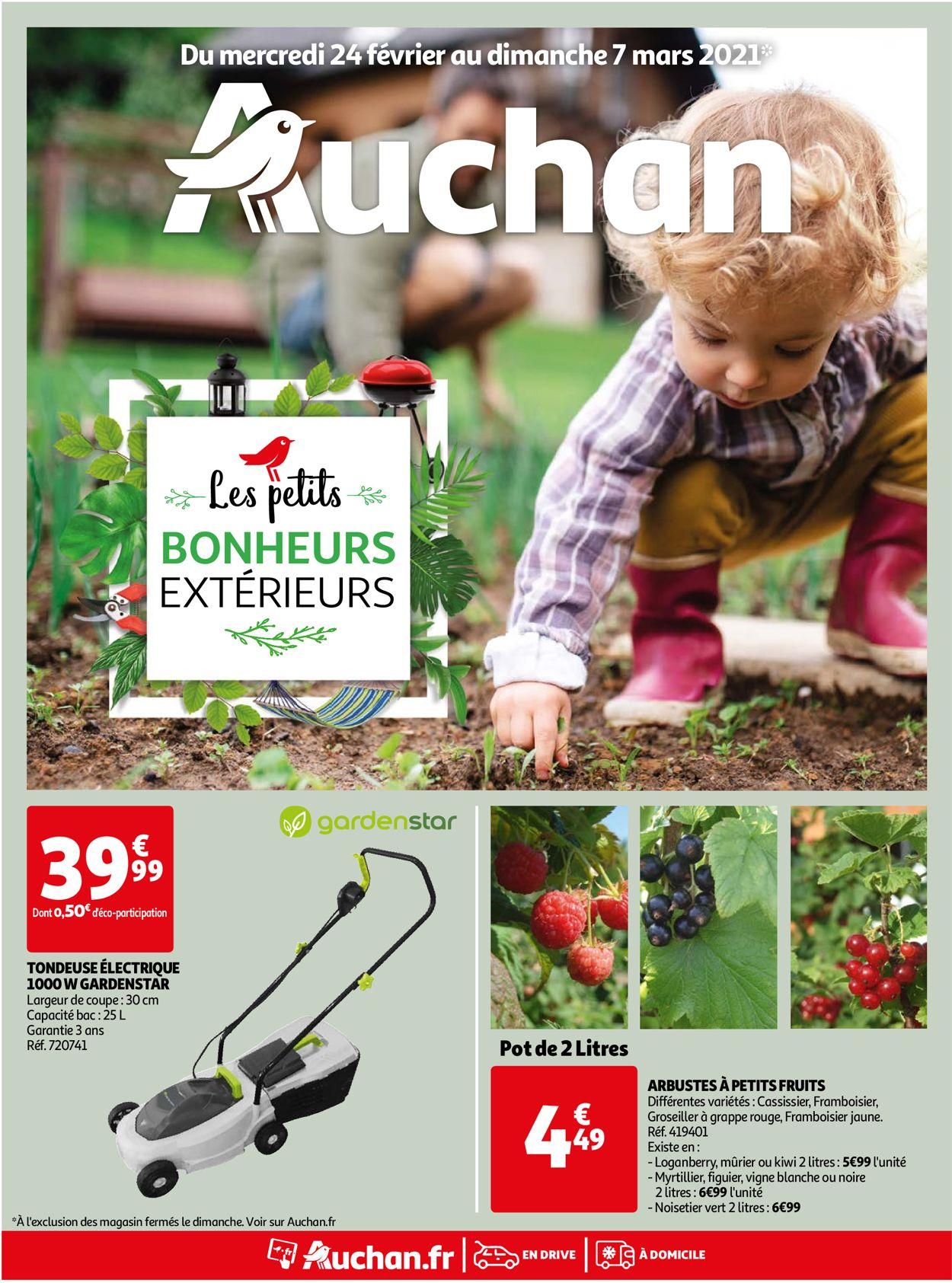 Auchan Catalogue - 24.02-07.03.2021
