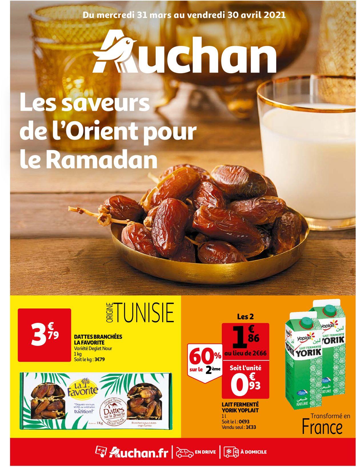 Auchan Catalogue - 31.03-30.04.2021