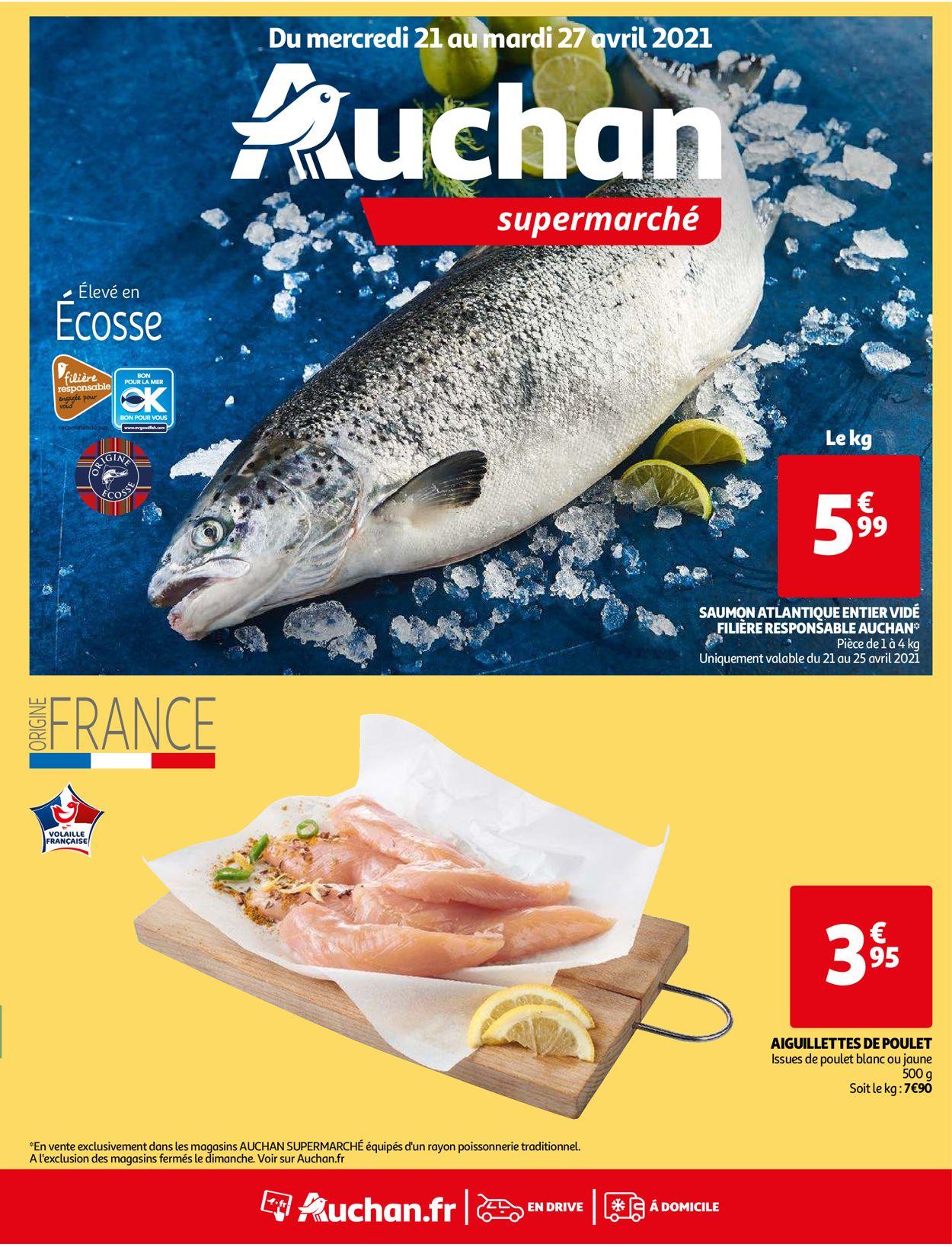 Auchan Catalogue - 21.04-27.04.2021
