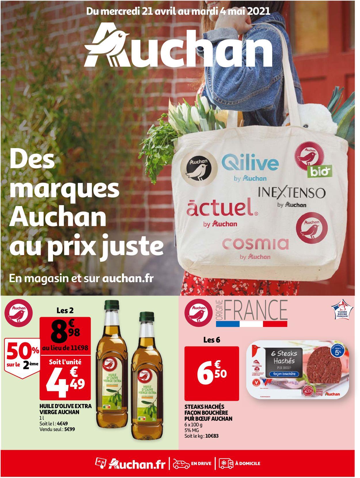 Auchan Catalogue - 21.04-04.05.2021