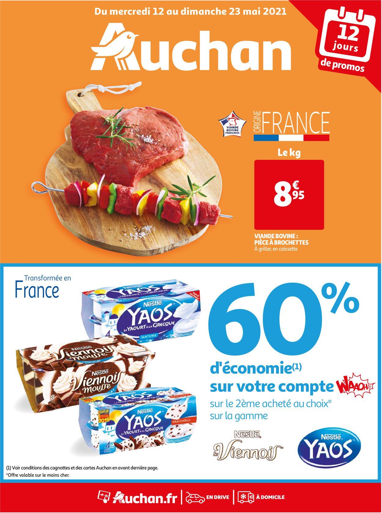 Auchan Catalogue - 12.05-23.05.2021