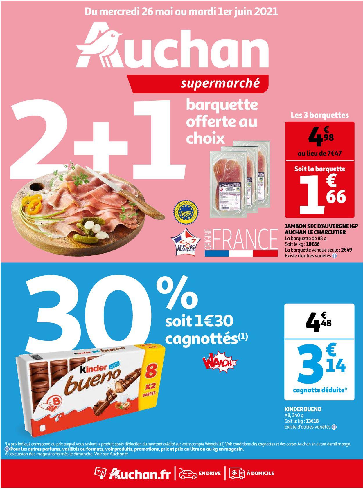 Auchan Catalogue - 26.05-01.06.2021