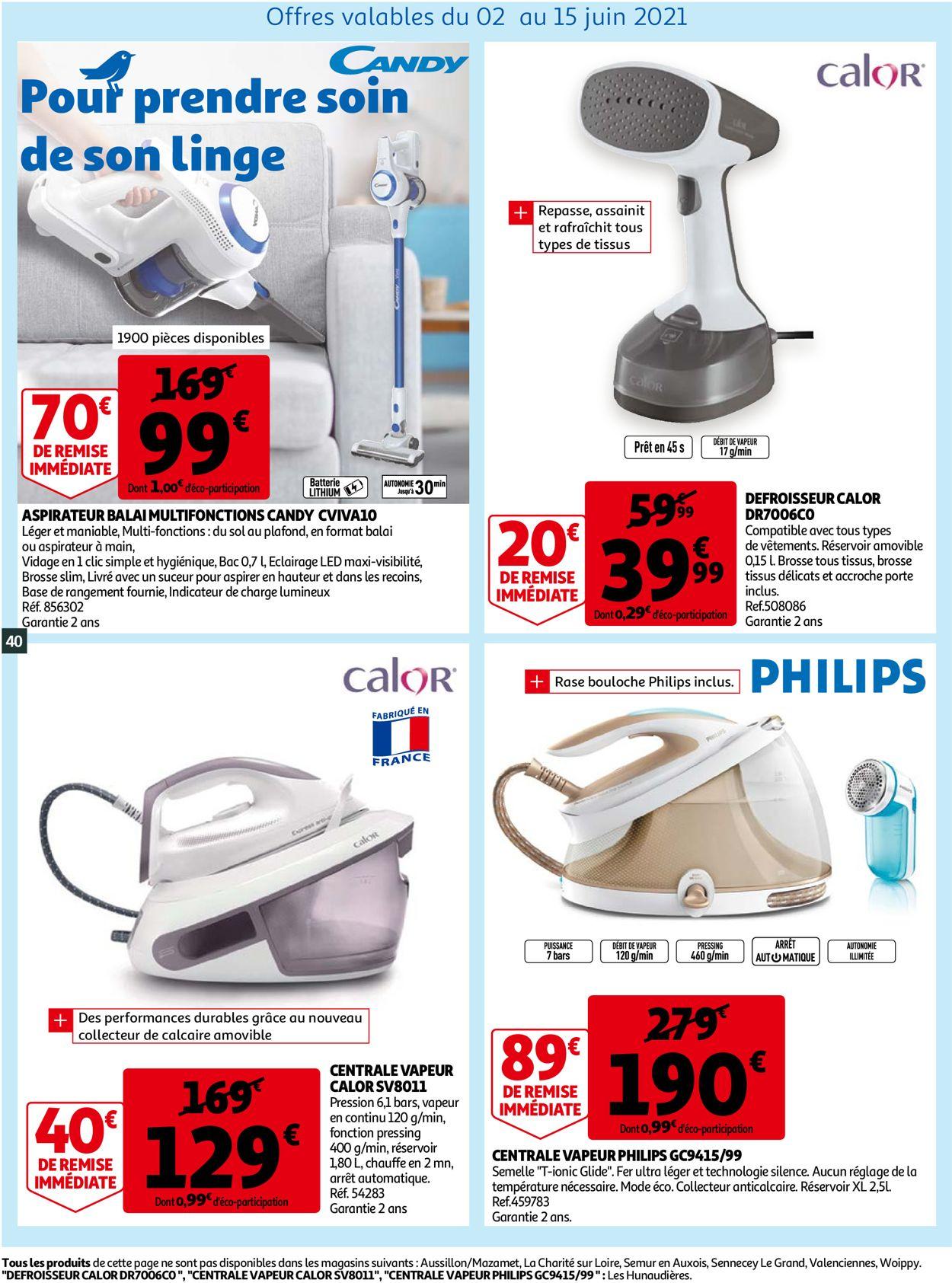 Auchan Catalogue - 02.06-08.06.2021 (Page 40)