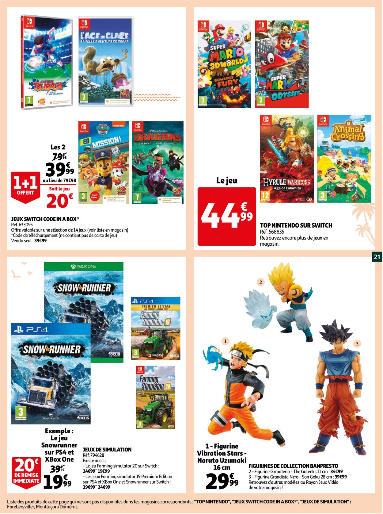 Auchan Catalogue - 30.06-05.07.2021 (Page 21)