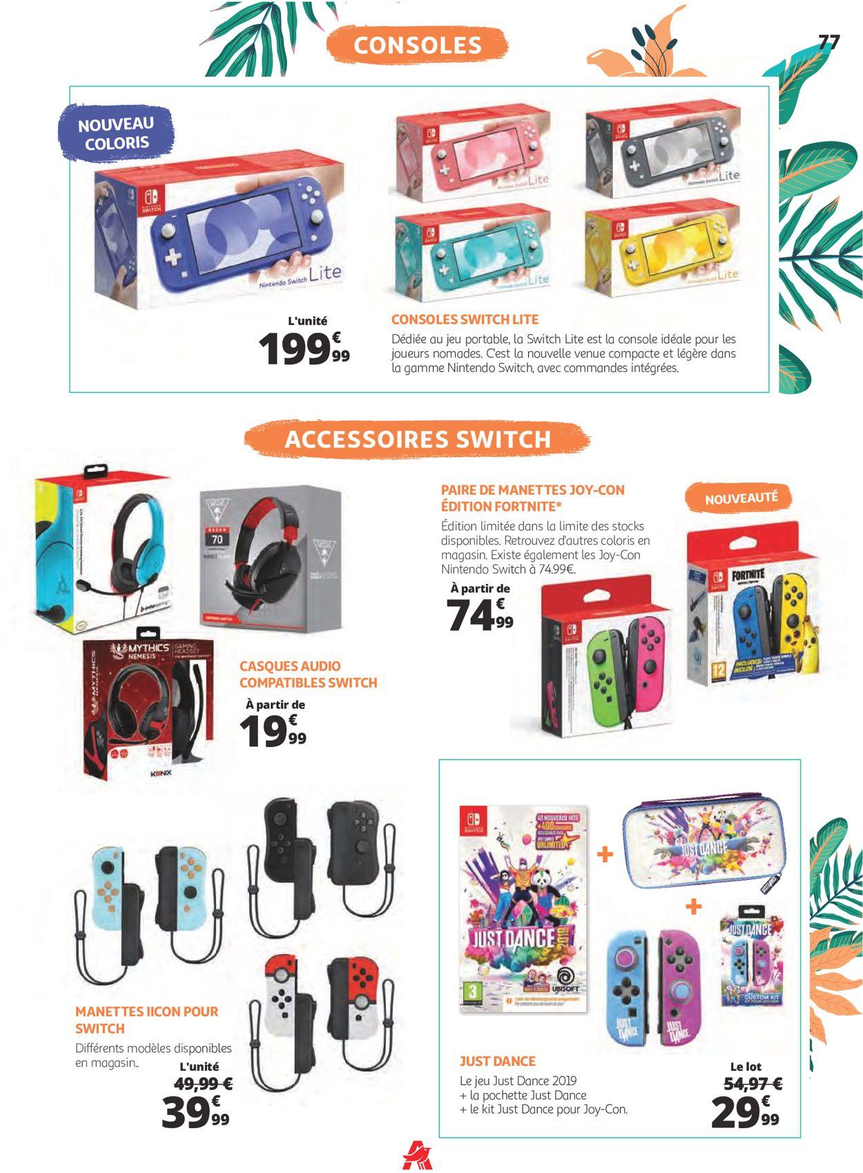 Auchan Catalogue - 30.06-29.08.2021 (Page 77)