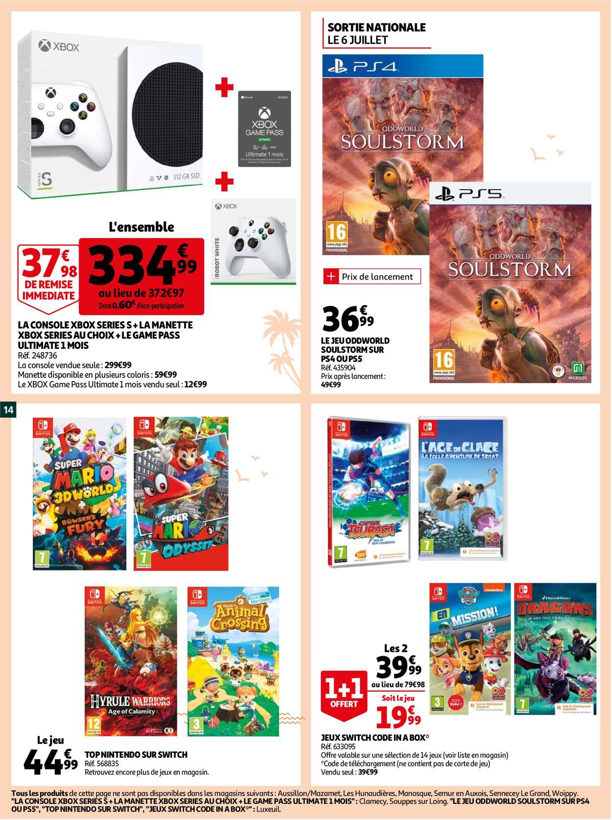 Auchan Catalogue - 30.06-05.07.2021 (Page 14)
