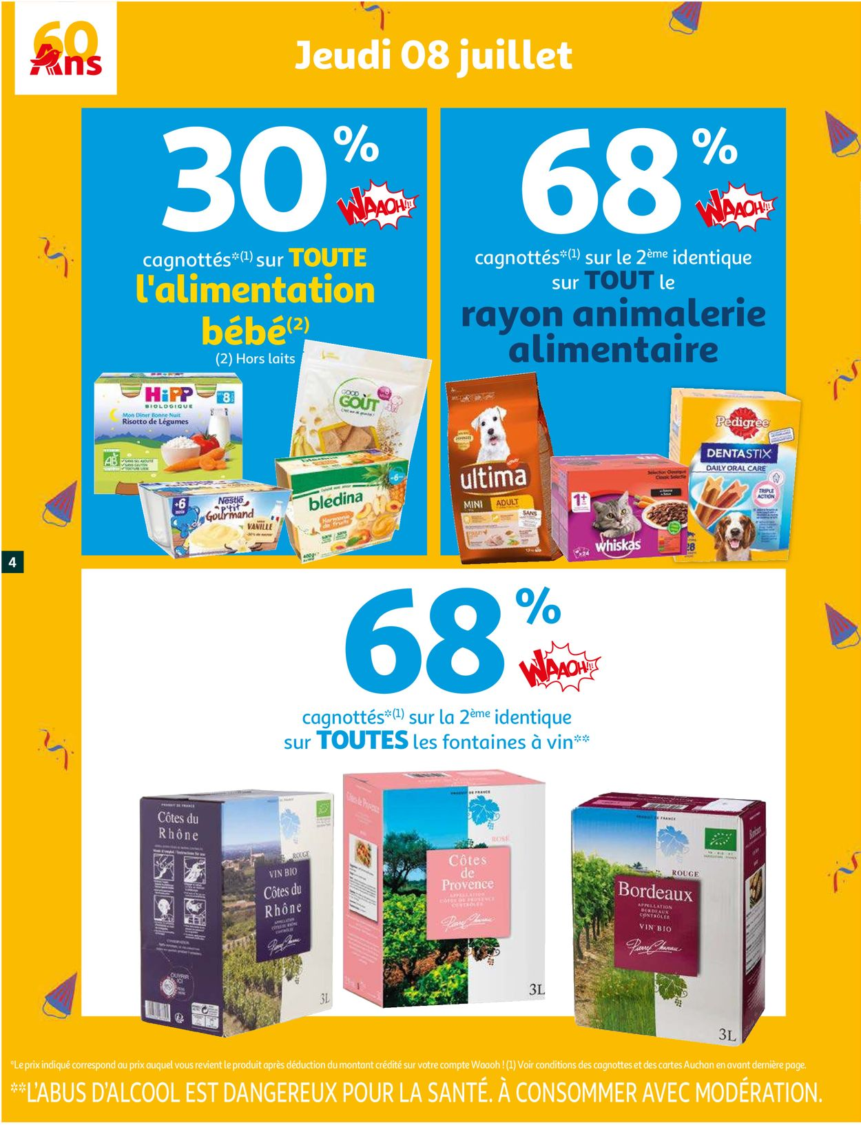 Auchan Catalogue - 06.07-13.07.2021 (Page 4)