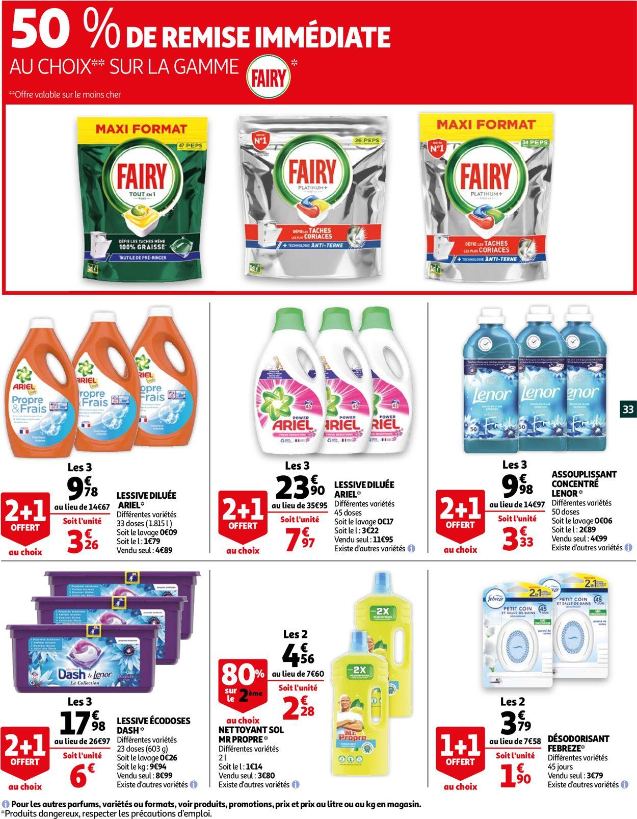 Auchan Catalogue - 13.07-25.07.2021 (Page 33)