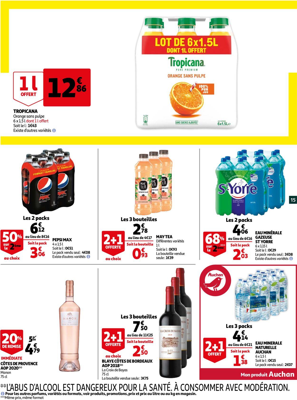 Auchan Catalogue - 21.07-25.07.2021 (Page 15)