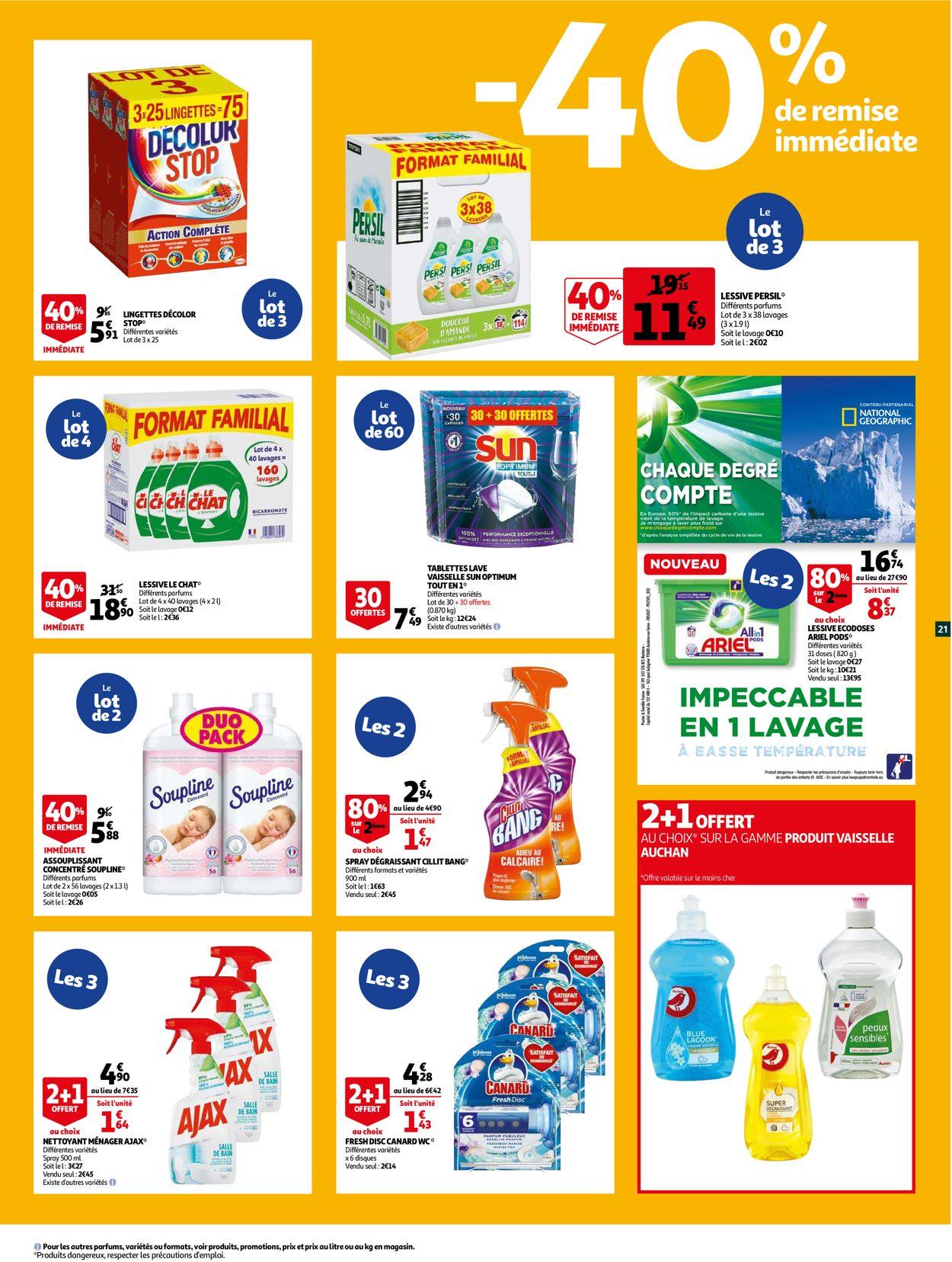 Auchan Catalogue - 26.07-08.08.2021 (Page 21)
