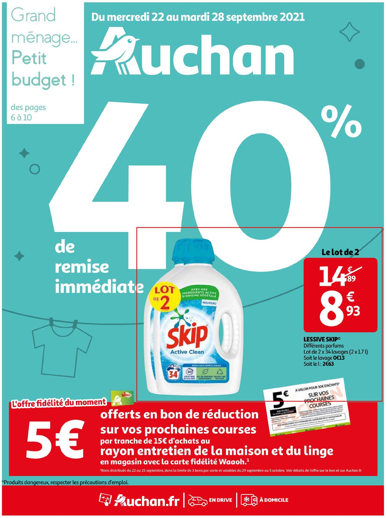 Auchan Catalogue - 22.09-28.09.2021