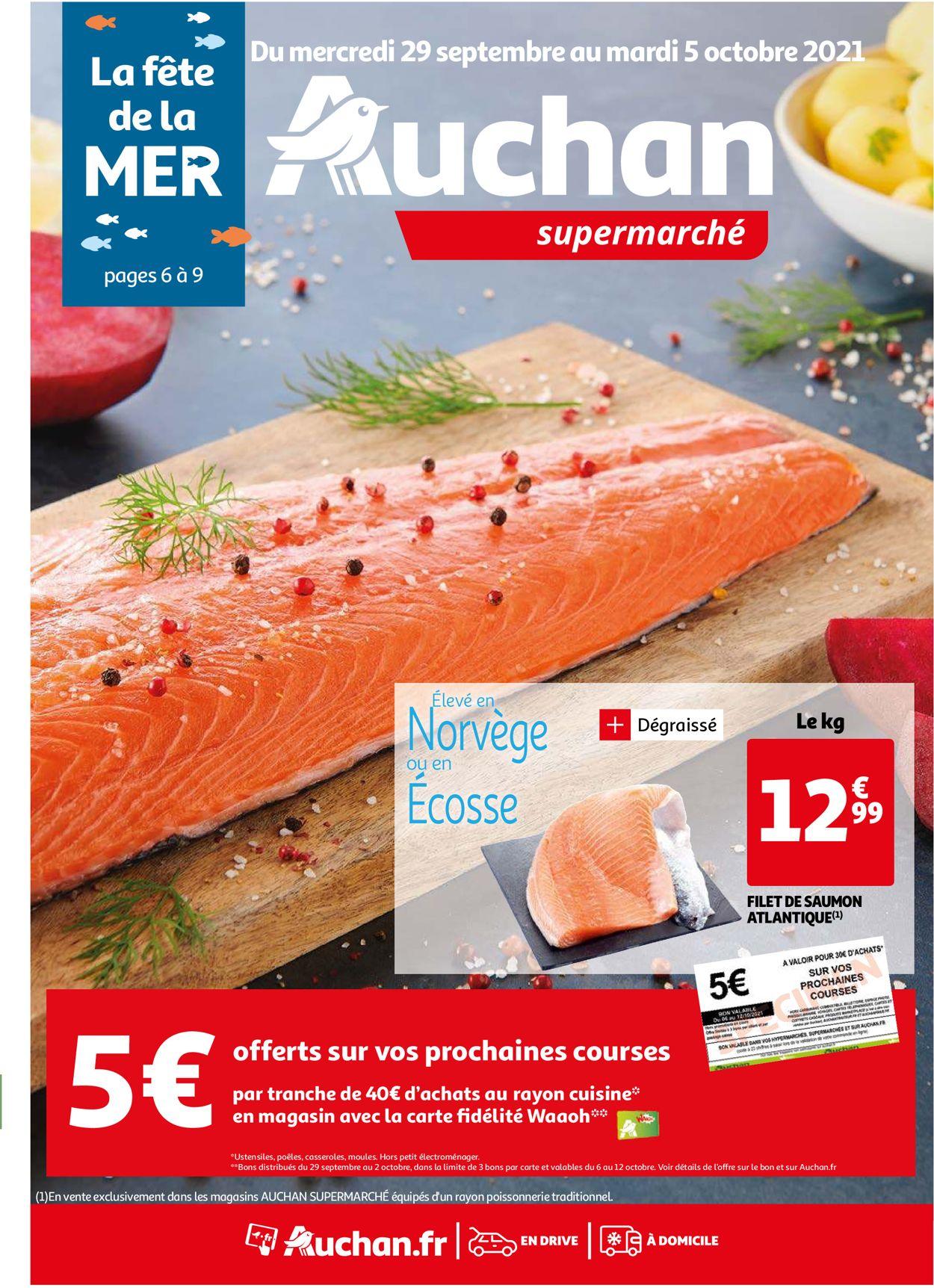 Auchan Catalogue - 29.09-05.10.2021