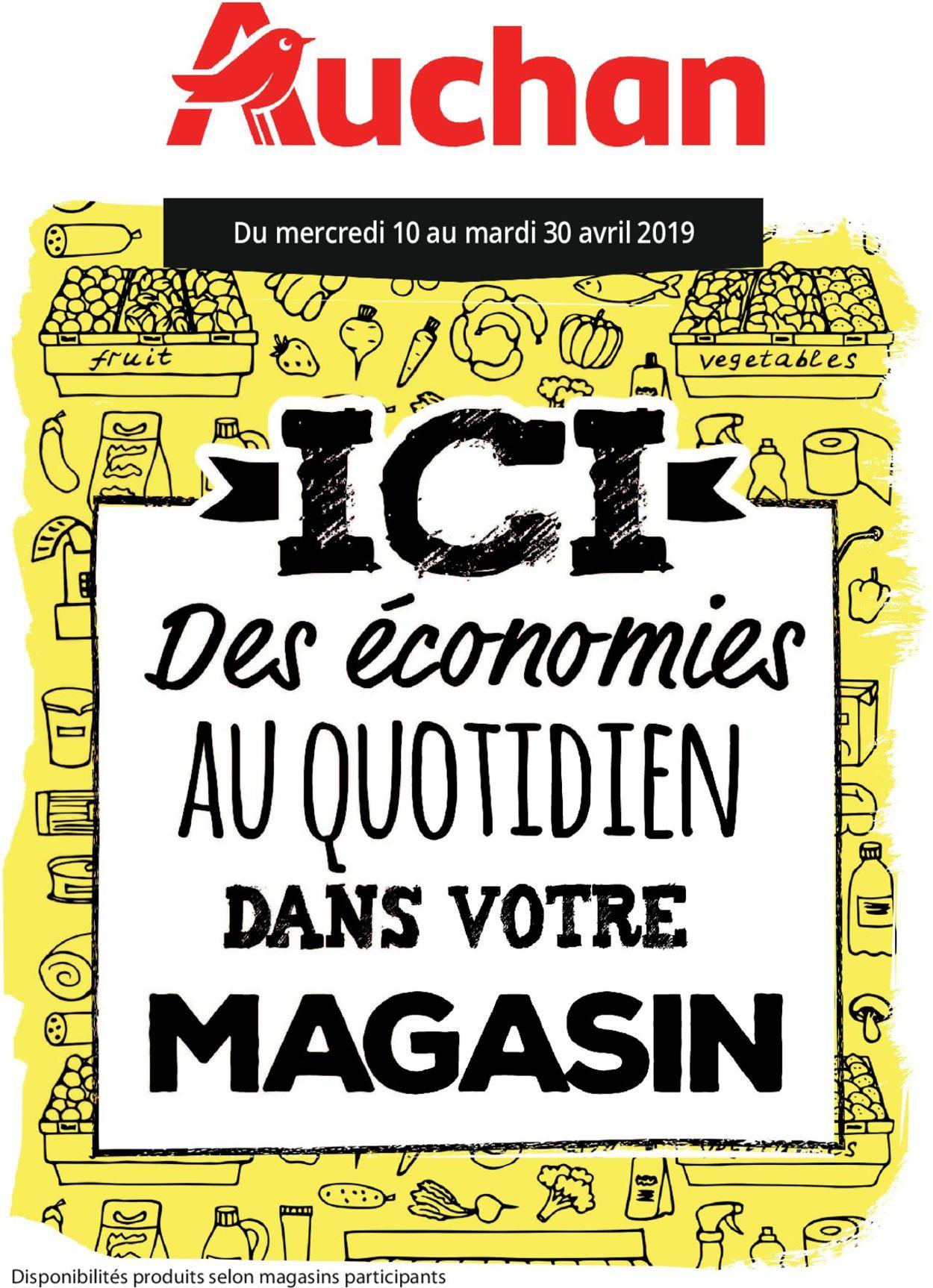 Auchan Catalogue - 10.04-30.04.2019