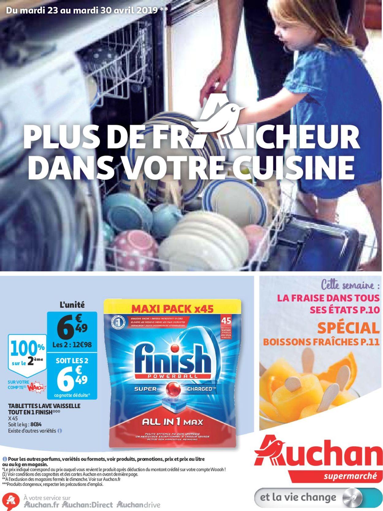 Auchan Catalogue - 23.04-30.04.2019