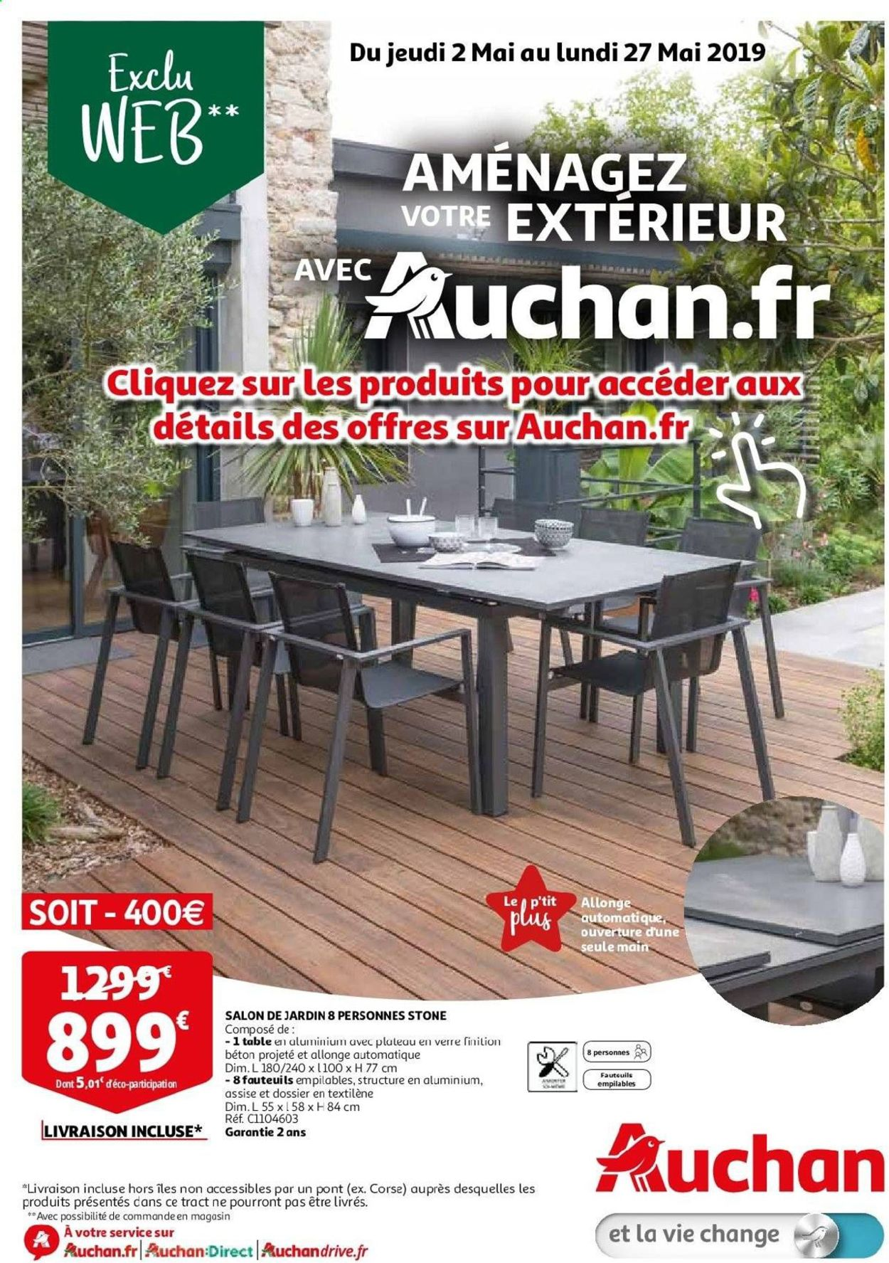 Auchan Catalogue - 02.05-27.05.2019