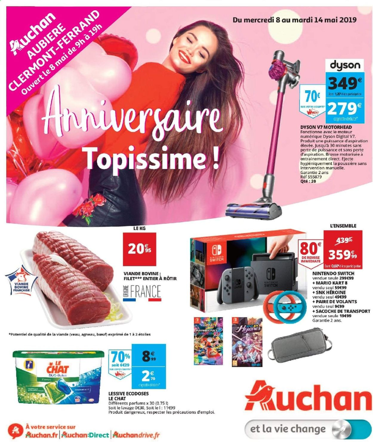 Auchan Catalogue - 08.05-14.05.2019