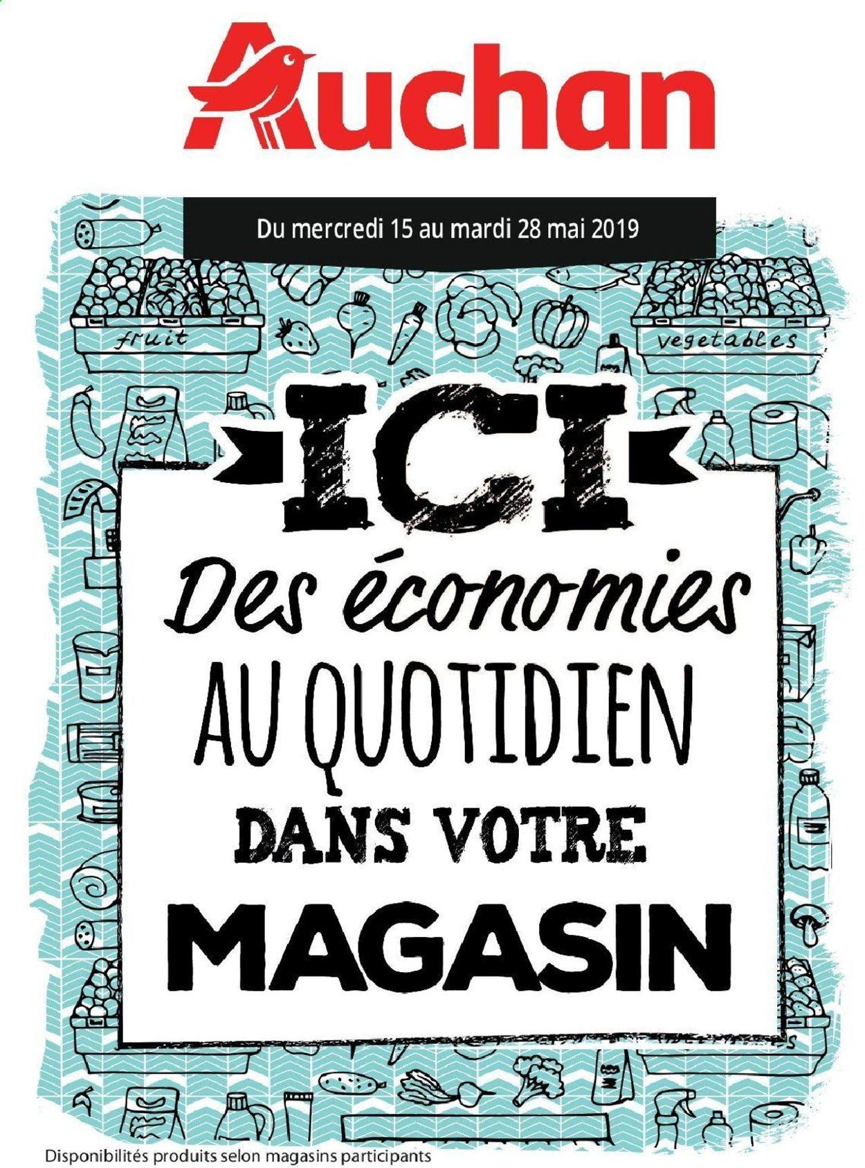 Auchan Catalogue - 15.05-28.05.2019
