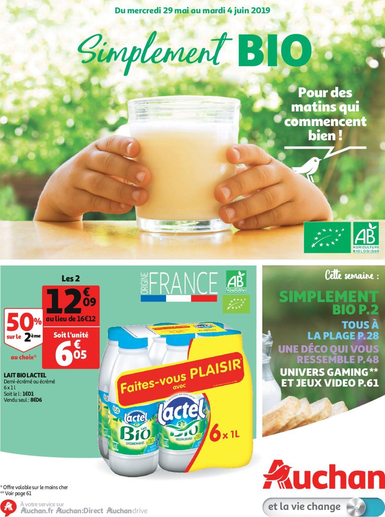 Auchan Catalogue - 29.05-11.06.2019