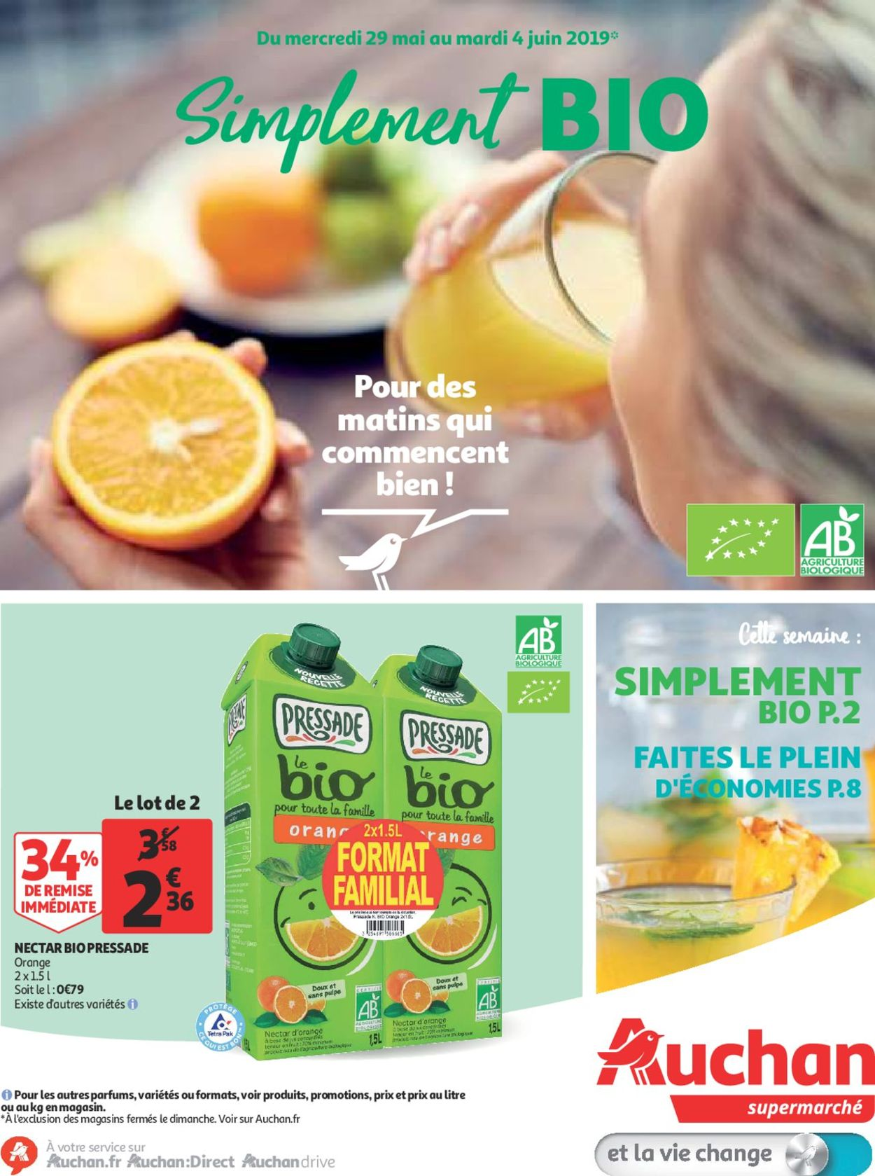 Auchan Catalogue - 29.05-04.06.2019