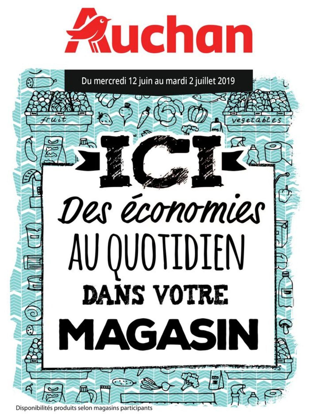 Auchan Catalogue - 12.06-02.07.2019