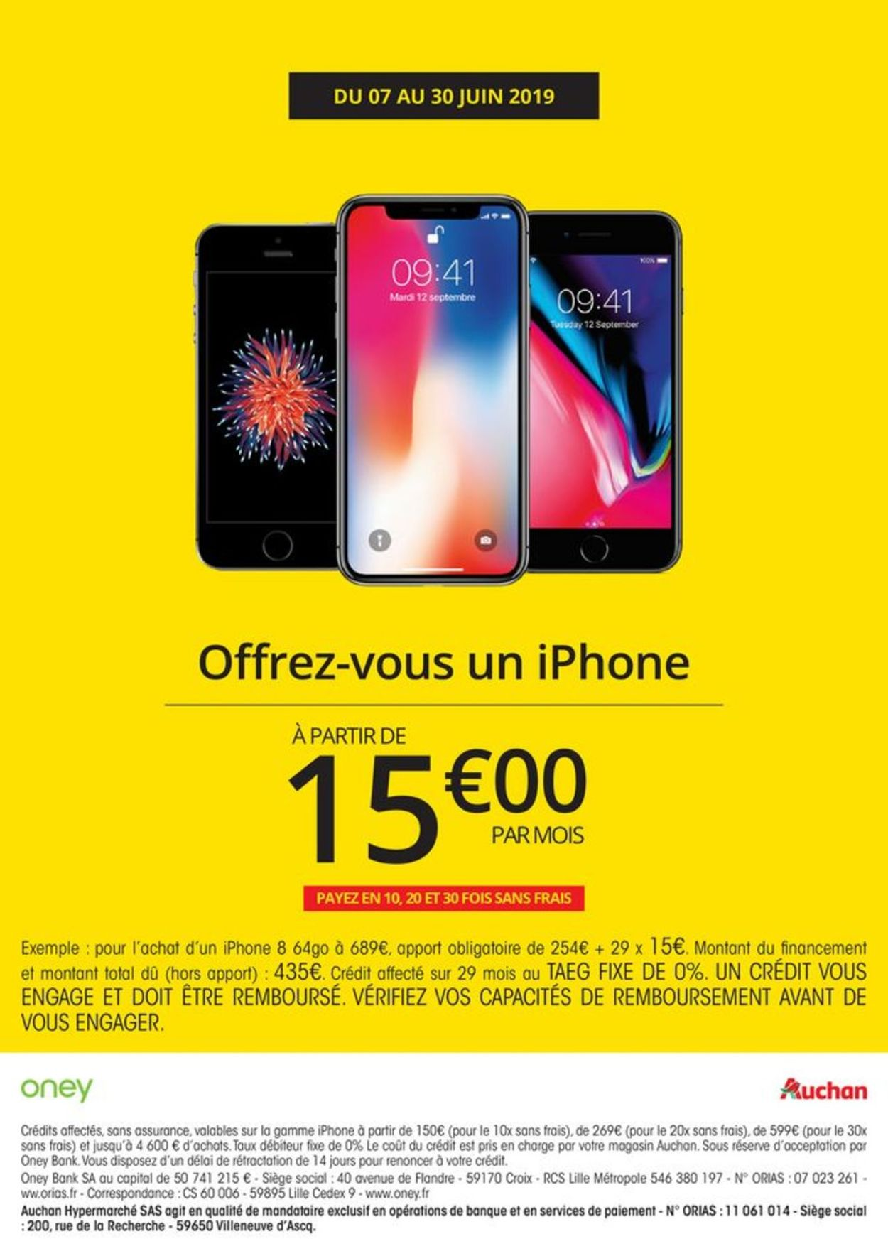 Auchan Catalogue - 07.06-30.06.2019