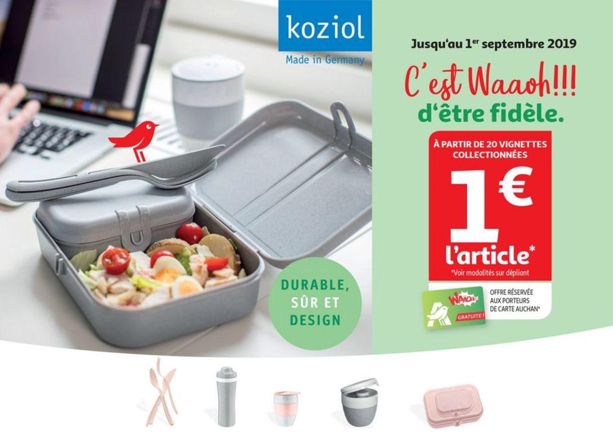 Auchan Catalogue - 06.06-01.09.2019