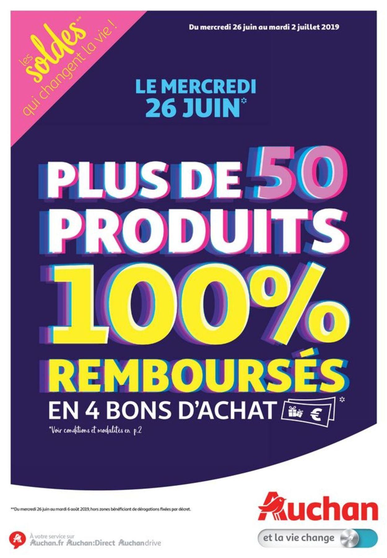 Auchan Catalogue - 26.06-02.07.2019