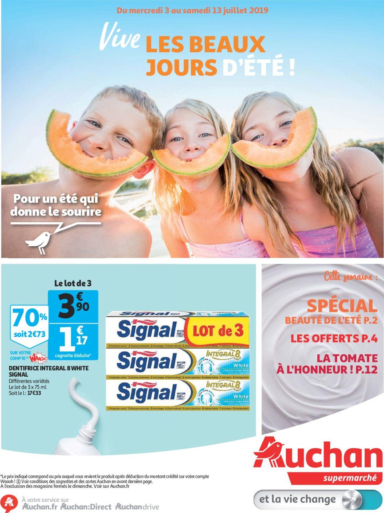 Auchan Catalogue - 03.07-13.07.2019