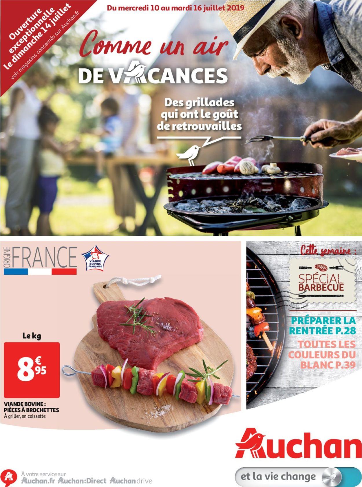 Auchan Catalogue - 10.07-16.07.2019