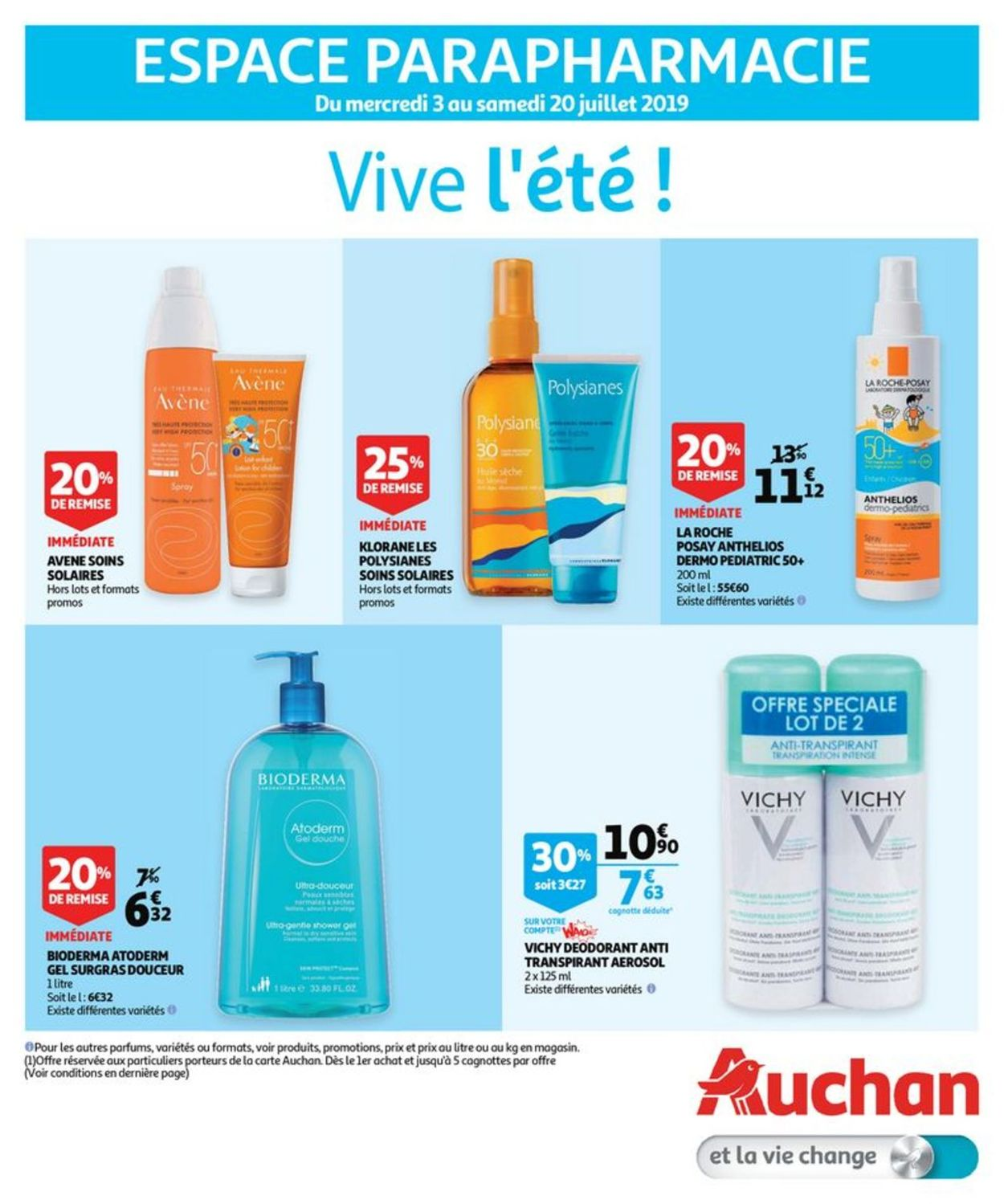Auchan Catalogue - 03.07-20.07.2019