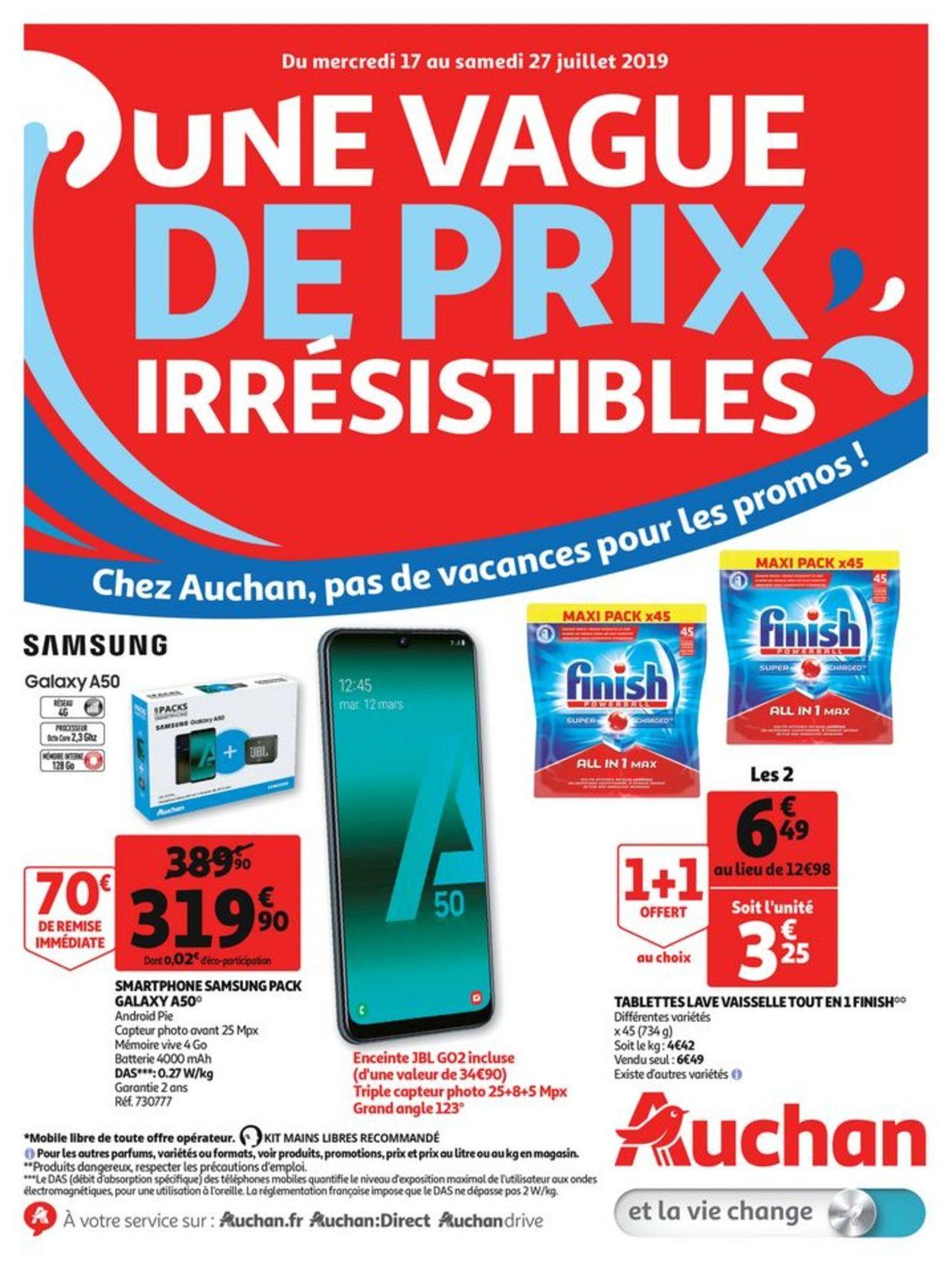 Auchan Catalogue - 17.07-28.07.2019