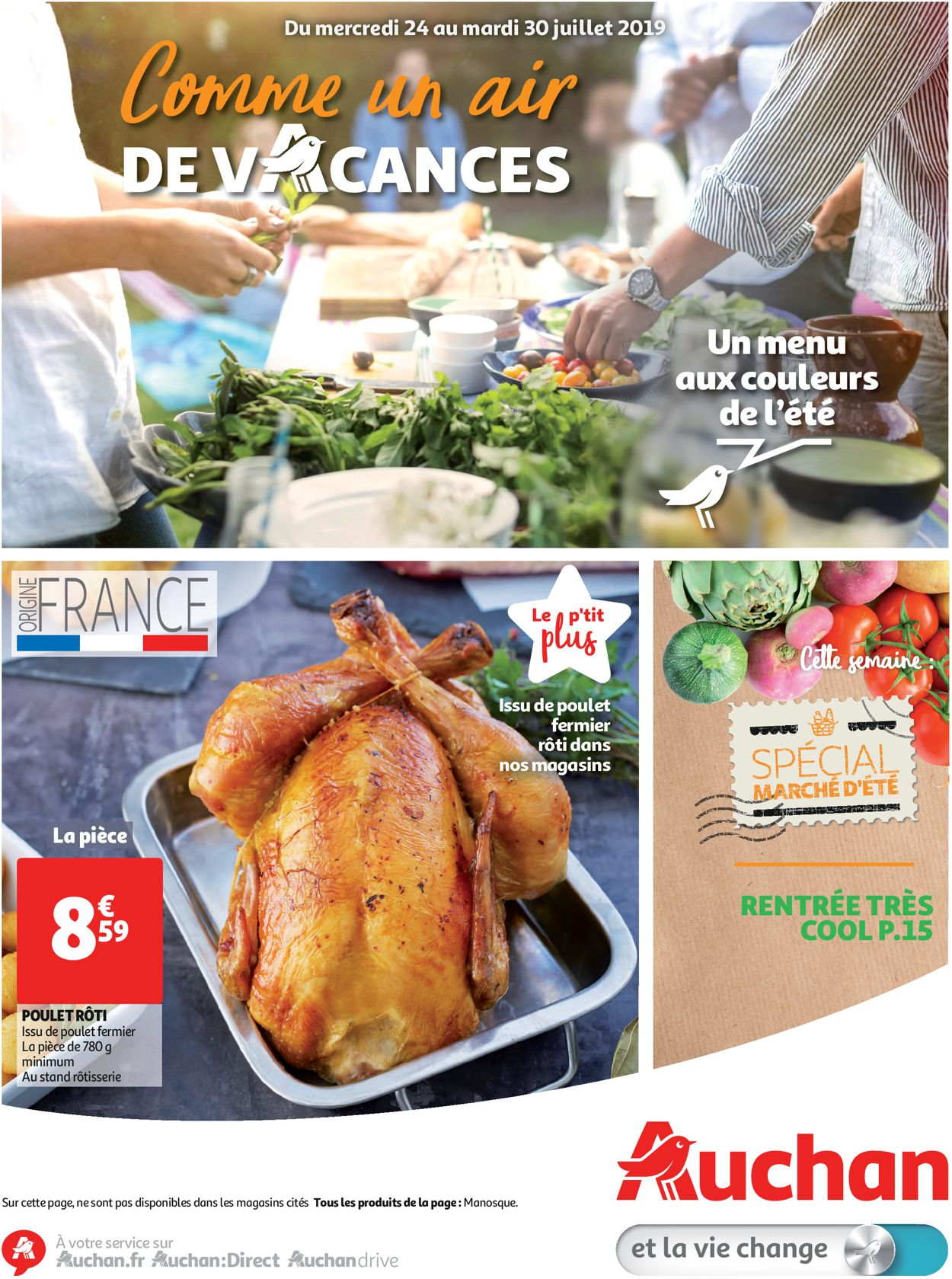 Auchan Catalogue - 24.07-30.07.2019