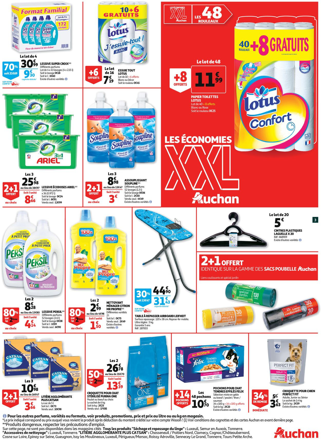 Auchan Catalogue - 31.07-10.08.2019 (Page 3)