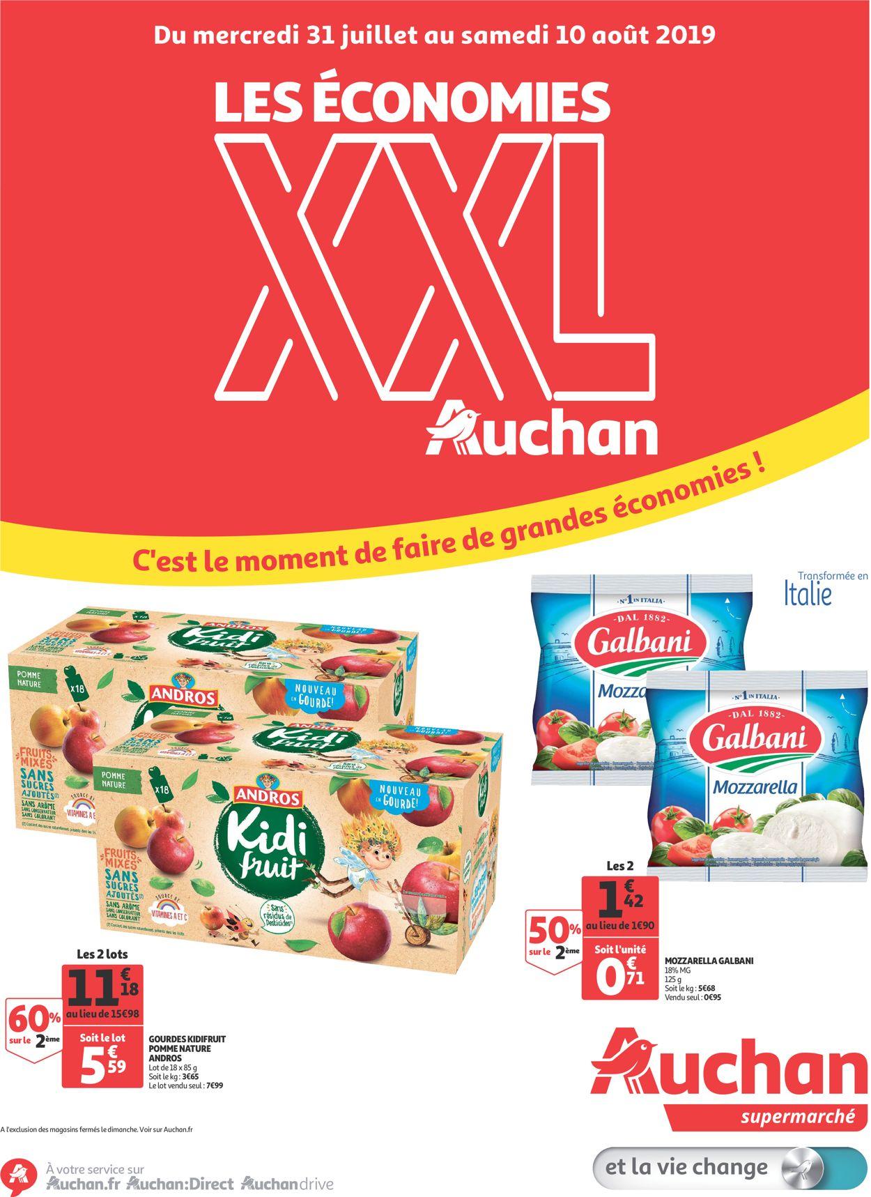 Auchan Catalogue - 31.07-10.08.2019